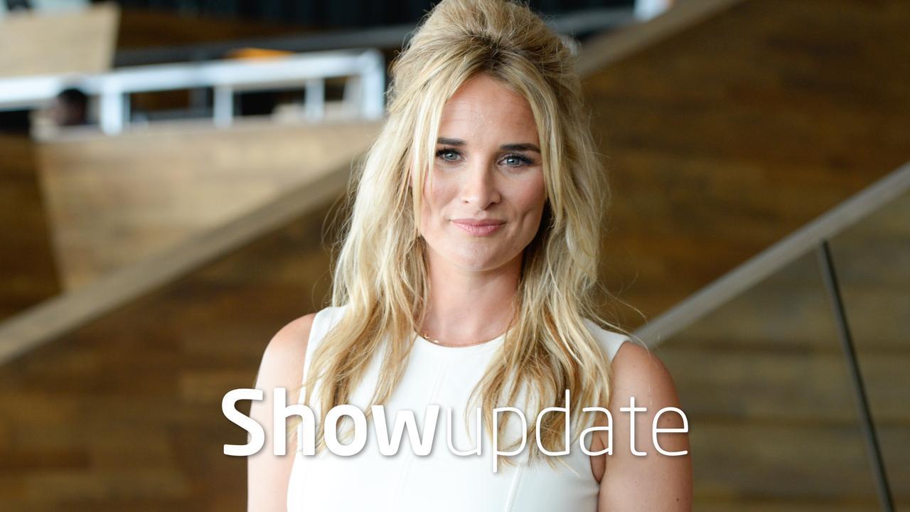 Show Update: Lieke van Lexmond showt geboortekaartje
