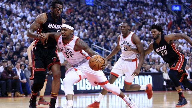 Raptors weer naast Miami Heat in halve finales Eastern Conference NBA