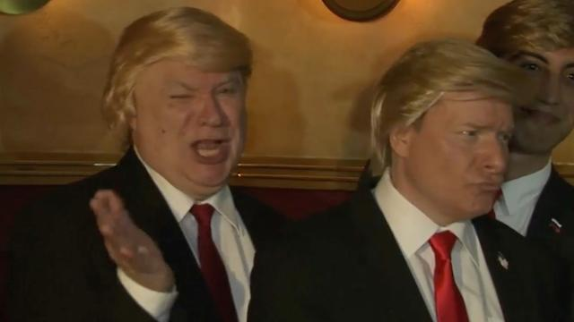 Beste Trump-imitatoren nemen het tegen elkaar op in Los Angeles
