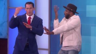 John Cena toont danskunsten bij Ellen