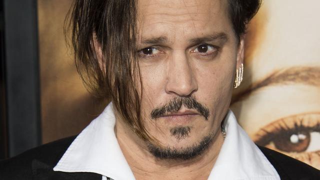 Johnny Depp meest overbetaalde acteur 2015