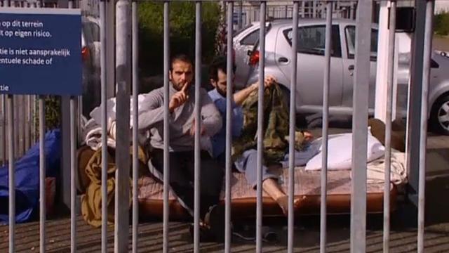 Aantal asielzoekers Havenstraat nog steeds in hongerstaking