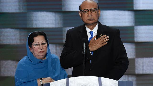 Kritiek op Trump groeit na uitspraken over ouders gesneuvelde moslim