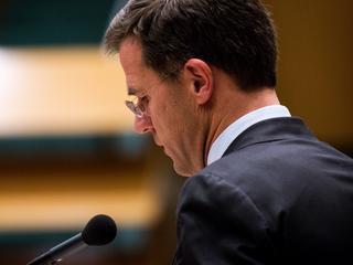 Rutte: 'Dit is veruit het zwaarste debat uit mijn politieke loopbaan'