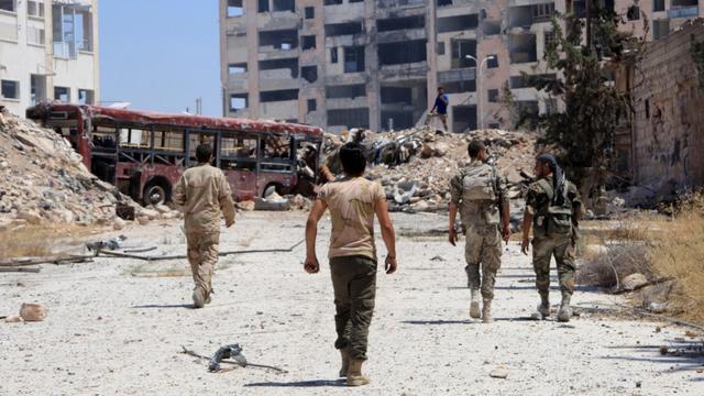 Bommen blijven vallen op Aleppo, maar de wereld kijkt toe