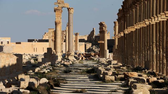 'Massagraf met 42 lichamen gevonden in Syrische stad Palmyra'
