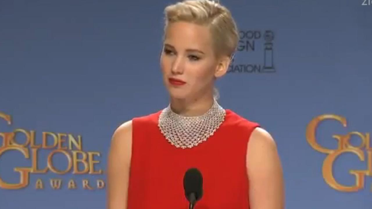 Jennifer Lawrence zet journalist op zijn plek