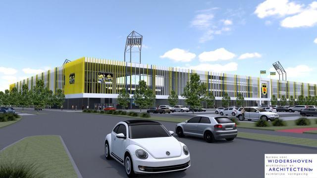Cambuur krijgt groen licht van gemeente voor bouw nieuw stadion
