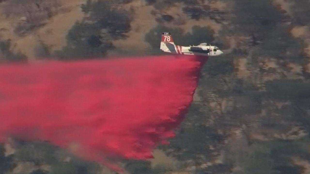 Brandweer California gaat strijd aan met bosbranden