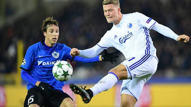Samenvatting Club Brugge-FC Kopenhagen (0-2)