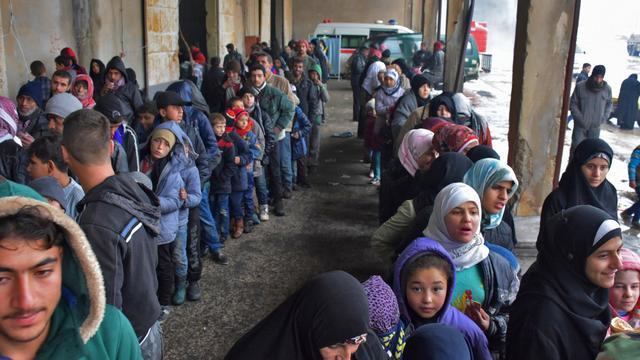 Aantal uit Oost-Aleppo gevluchte Syriërs stijgt naar 400.000