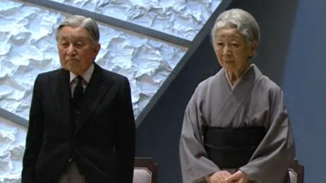 Japan herdenkt zware aardbeving en tsunami