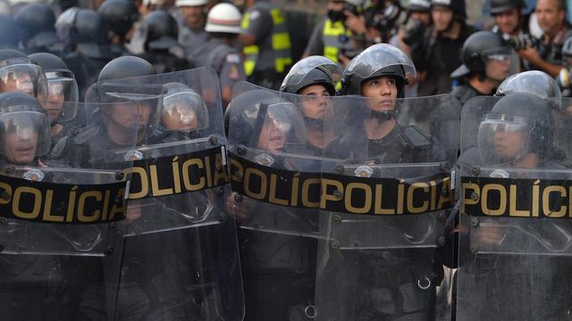 Politie slaat rellen in São Paulo neer