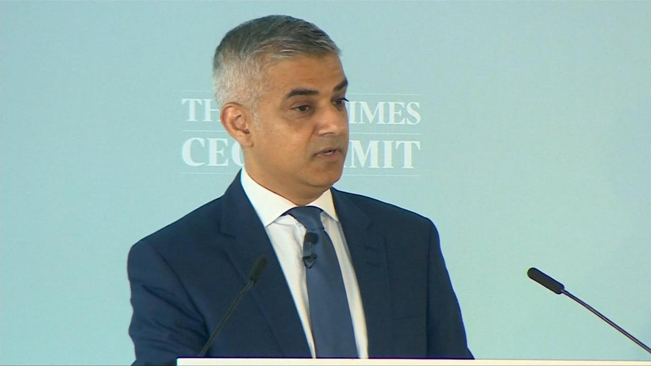 Burgemeester Londen wil meer autonomie voor hoofdstad