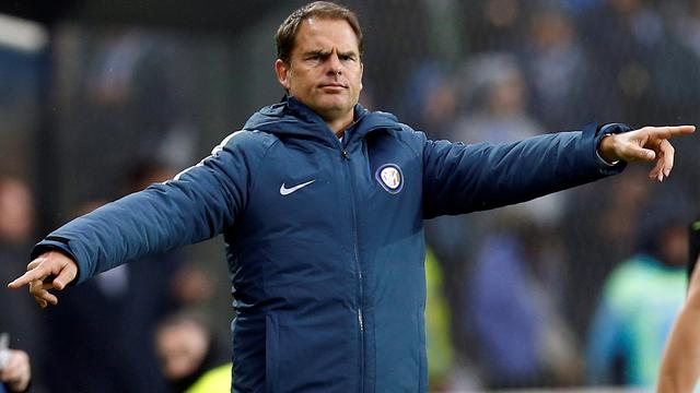 De Boer na drie maanden ontslagen als trainer van Internazionale