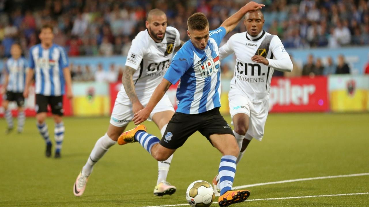 Bekijk de samenvatting van FC Eindhoven-NAC Breda