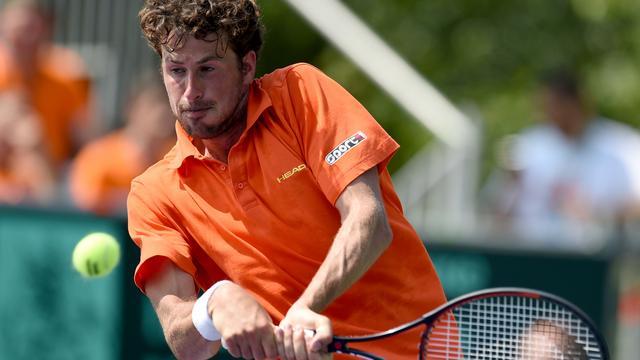 Haase verslaat De Bakker bij ATP-toernooi van Gstaad