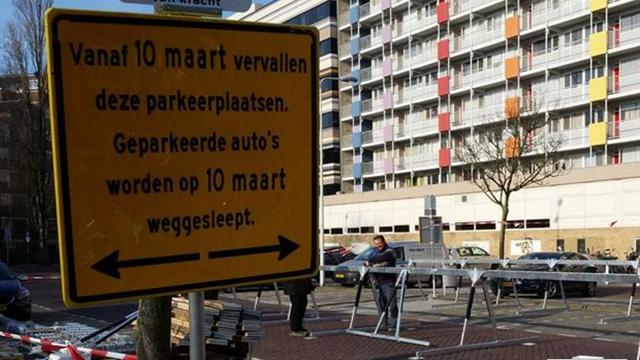 Plaatsing fietsenstallingen Morssingelterrein van start