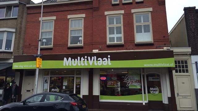 MultiVlaai vertrekt uit pand in Alphense Hooftstraat