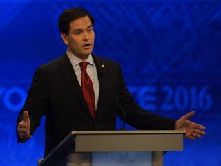 Presidentskandidaten debatteren in New Hampshire