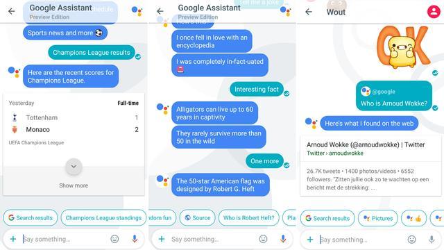 Google brengt chat-app Allo met slimme assistent uit