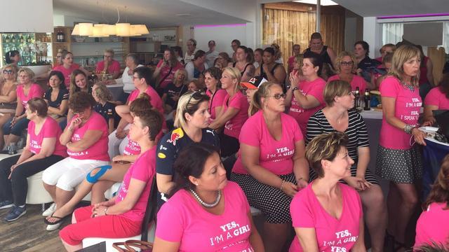 Succesvolle Formule 1-vrouwendag bij Wet 'n Wild