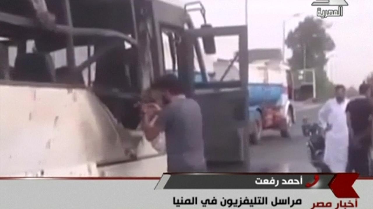 Veel koptische christenen omgekomen bij beschieting bus Egypte