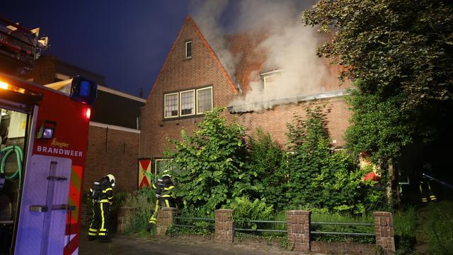 Sloop woningen na felle brand Laan van Brabant