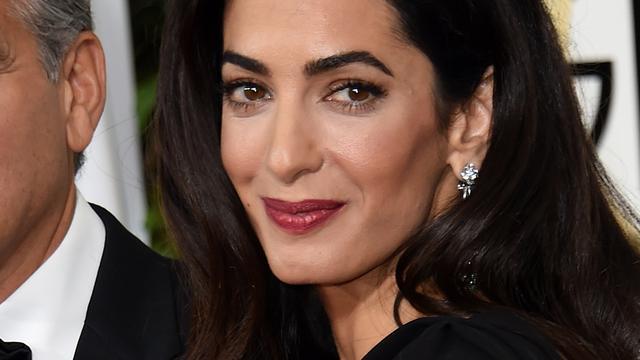 Amal Clooney ziet zichzelf niet als beroemdheid