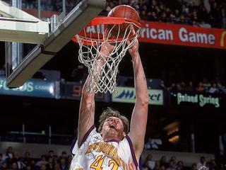 Acteur en basketballer was een van de langste mannen ter wereld
