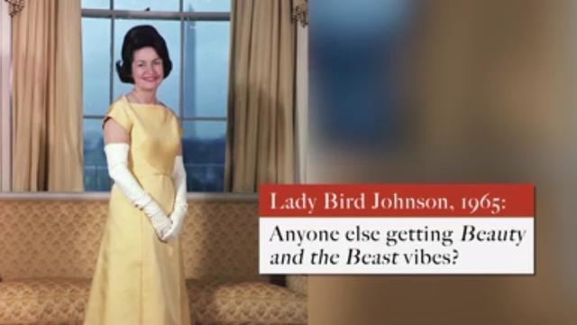 Dit droegen de first lady's tijdens eerdere inauguraties