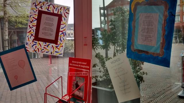 Gedichten over vrijheid te zien in Alphense centrum