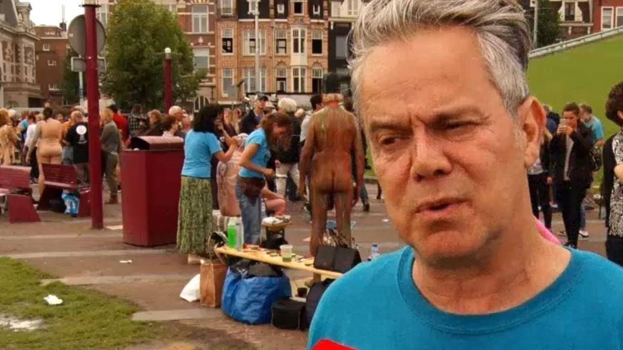 Derde Amsterdam Bodypaint Day op het Museumplein