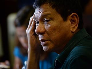 Rodrigo Duterte belooft harde aanpak van criminaliteit