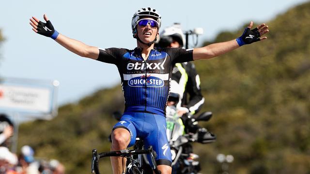 Alaphilippe wint derde etappe Ronde van Californië, Ten Dam zesde