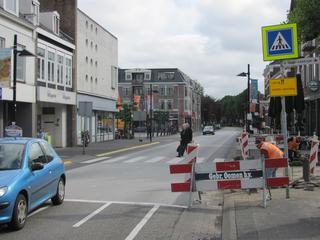 Volledige herinrichting Molenstraat in 2017