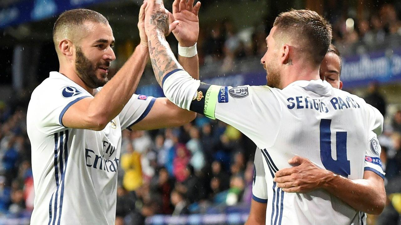 Samenvatting Real Madrid-Sevilla (3-2)