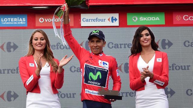Rodetruidrager Quintana opgelucht na probleemloze etappe