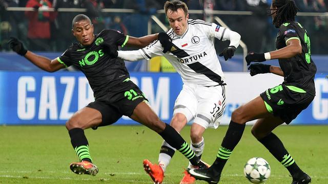 Samenvatting Legia Warschau-Sporting Lissabon (1-0)