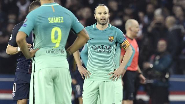 Iniesta geeft niet op na evenaring grootste nederlaag Barcelona in Europa