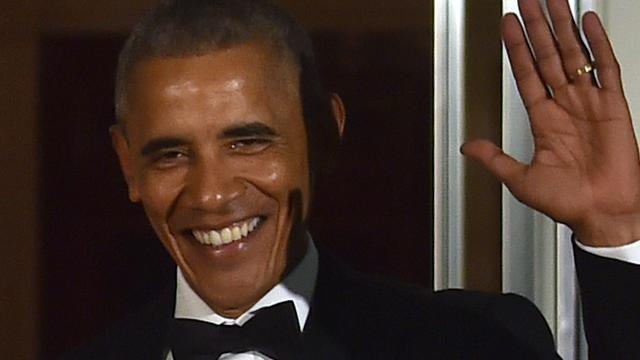 Sterren nemen ouders mee tijdens laatste staatsdiner Obama