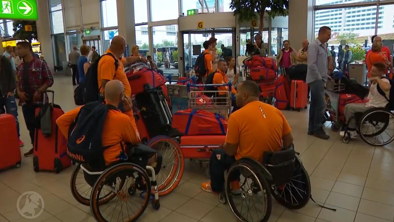 Laatste paralympiërs vertrekken naar Rio