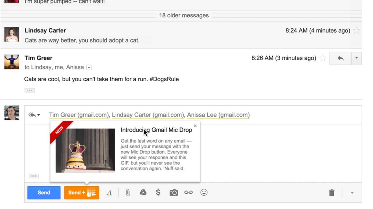 Google blundert met 1 aprilgrap in Gmail   NU - Het ...
