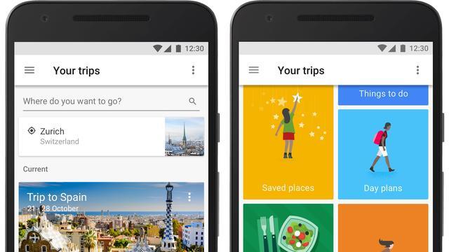 Google brengt reisapp Trips uit voor iOS en Android