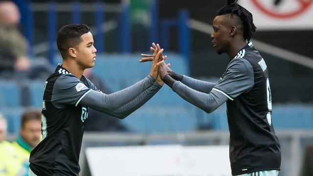 Traoré en Kluivert opnieuw in Ajax-basis tegen Schalke 04