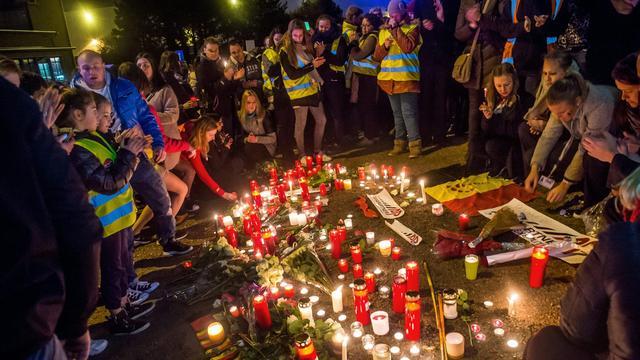 Stille tocht in Maastricht voor Nederlandse slachtoffers Zaventem