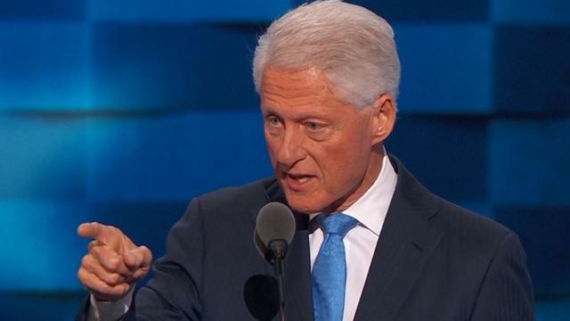 Bill Clinton noemt Hillary wereldverbeteraar