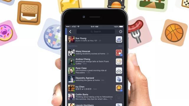 Facebook overwoog alternatieve zijbalk op smartphones