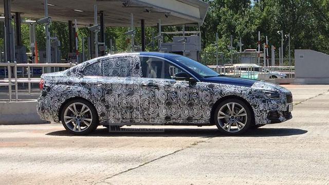 Spionagebeeld BMW 1-serie sedan