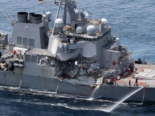 De identiteit van de vermisten van de USS Fitzgerald moet nog worden vastgesteld